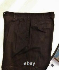 Vintage Comme des Garcons black Cotton Pants 1980's