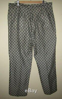 Vintage Gucci Mens GG Monogram Logo Jean Pants Size 38 waist