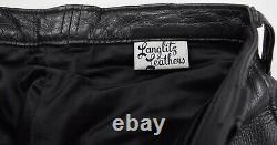 Vintage Langlitz Columbia Cascade Leather Motorcycle Pants Mens 30