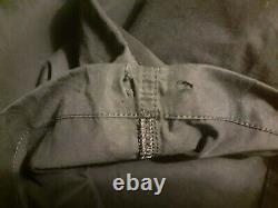 Vintage Maharishi Snopant Black Skeleton Hand Embroidered Medium