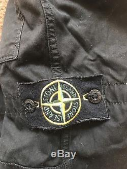 Vintage Stone Island A/W 1989 Cargo Combat Trousers Military Pants UK 32 EU 48