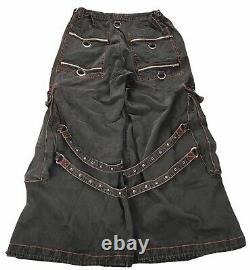 Vintage Tripp NYC Dang Goodman Rave Goth Club Cargo Pants Men's Size XL