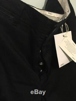 Visvim Black Cropped Trousers