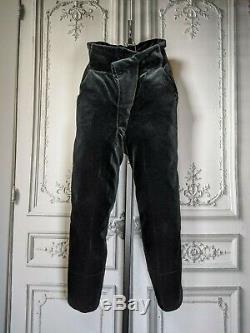 Vivienne Westwood -1980/1990 Velvet Pirate Pants Original Vintage Red Tag S