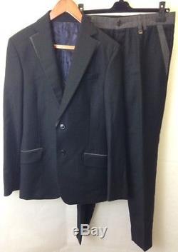 Vivienne Westwood Mens London black suit jacket and trousers. Size 48