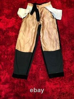 Vivienne Westwood Mint Condition Vintage 90s Black Velvet Trousers Size 30 W
