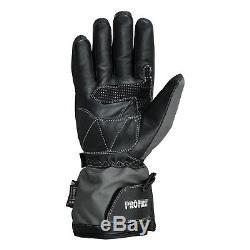 Waterproof Motorcycle Motorbike Moped Suit Jacket Trouser Gloves Boots Grey
