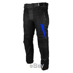 Waterproof Motorcycle Suit with Boots Motorbike Cordura Jacket Armoured Trouser