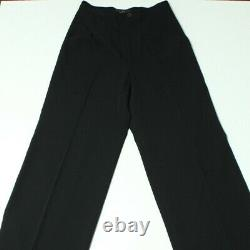 Y's by Yohji Yamamoto Wide Leg Wavy Trousers Pants (High waisted) Size 3 Japan