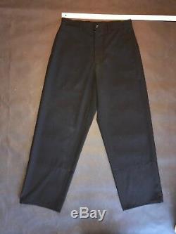 Yohji Yamamoto Black Wool blend pants Sz 3 Very good condition
