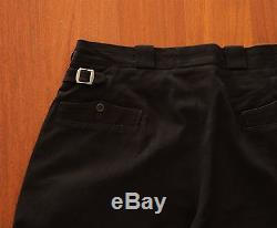 Yohji Yamamoto Pleated Cotton Trousers Paul Harnden Watanabe CdG