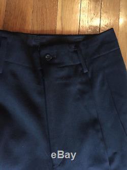 Yohji Yamamoto Pour Homme Lined Wool Pants / size M