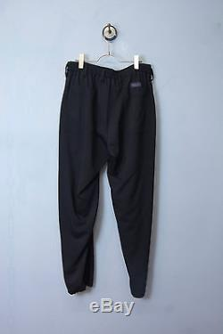 Yohji Yamamoto Pour Homme Regulation 16SS Hook Black West Easy Trousers Size2