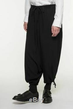 Yohji Yamamoto S'YTE 60s Ry/Span Twill Washer Balloon Sarueru Pants Black Unisex